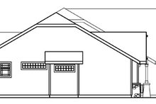 House Design - Ranch Exterior - Other Elevation Plan #124-371