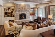 Country Style House Plan - 4 Beds 4.5 Baths 5582 Sq/Ft Plan #928-320 Interior - Other