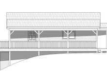 Architectural House Design - Cabin Exterior - Other Elevation Plan #932-107
