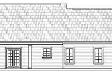Southern Exterior - Rear Elevation Plan #21-208