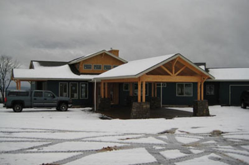 Craftsman Exterior - Other Elevation Plan #124-737 - Houseplans.com