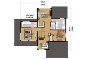 Contemporary Style House Plan - 3 Beds 2.5 Baths 2453 Sq/Ft Plan #25-4263 Floor Plan - Upper Floor Plan
