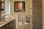 Traditional Style House Plan - 3 Beds 3 Baths 2097 Sq/Ft Plan #56-164 Interior - Master Bathroom