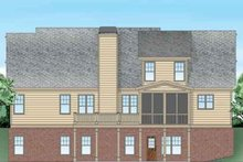Craftsman Exterior - Rear Elevation Plan #927-25
