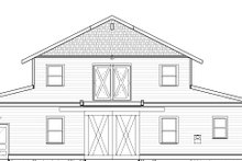 Home Plan - Farmhouse Exterior - Front Elevation Plan #895-116