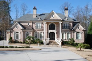 Dream House Plan - Colonial Exterior - Front Elevation Plan #419-235