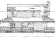 Farmhouse Style House Plan - 3 Beds 2.5 Baths 1696 Sq/Ft Plan #72-110 Exterior - Rear Elevation