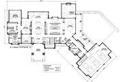 Contemporary Style House Plan - 4 Beds 3.5 Baths 4983 Sq/Ft Plan #928-287 Floor Plan - Main Floor