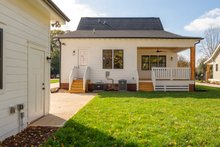House Plan Design - Farmhouse Exterior - Rear Elevation Plan #461-74