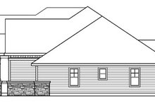 Home Plan - Craftsman Exterior - Other Elevation Plan #124-758
