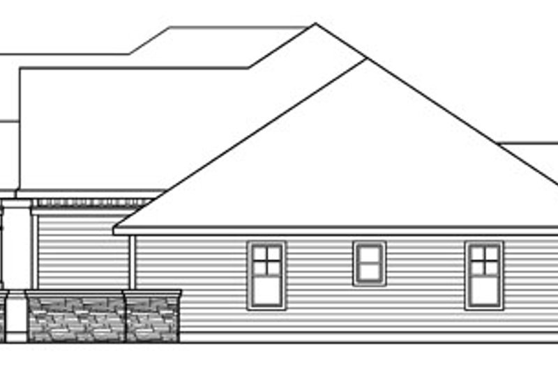 Craftsman Exterior - Other Elevation Plan #124-758 - Houseplans.com