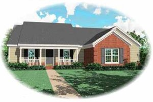 Traditional Exterior - Front Elevation Plan #81-275