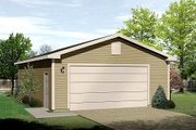 Traditional Style House Plan - 0 Beds 0 Baths 768 Sq/Ft Plan #22-533 Exterior - Front Elevation