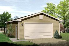 Traditional Exterior - Front Elevation Plan #22-533