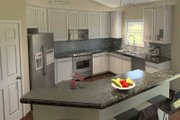 Cottage Style House Plan - 3 Beds 2 Baths 1762 Sq/Ft Plan #57-625 Exterior - Other Elevation