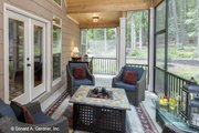 Craftsman Style House Plan - 3 Beds 2 Baths 2004 Sq/Ft Plan #929-14 Exterior - Outdoor Living