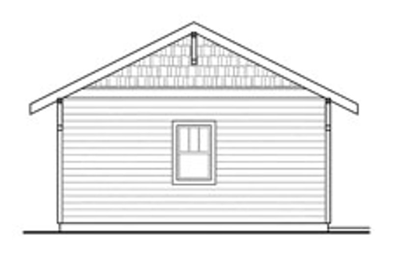 Traditional Exterior - Other Elevation Plan #124-637 - Houseplans.com