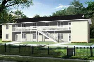 Traditional Exterior - Front Elevation Plan #1-916
