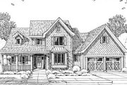 Craftsman Style House Plan - 4 Beds 2.5 Baths 2108 Sq/Ft Plan #46-429 Exterior - Other Elevation