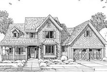 Architectural House Design - Craftsman Exterior - Other Elevation Plan #46-429