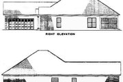 Traditional Style House Plan - 3 Beds 2 Baths 1806 Sq/Ft Plan #17-2275 Exterior - Other Elevation