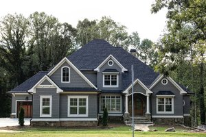 Traditional Exterior - Front Elevation Plan #437-86