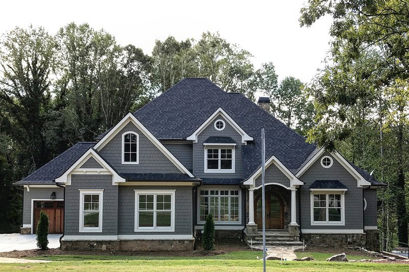 Home Plan - Traditional Exterior - Front Elevation Plan #437-86