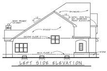 Home Plan Design - European Exterior - Other Elevation Plan #20-1231