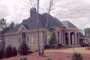 European Style House Plan - 4 Beds 4 Baths 5082 Sq/Ft Plan #119-196 Exterior - Other Elevation
