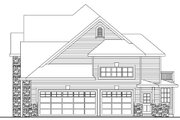 European Style House Plan - 5 Beds 3.5 Baths 3143 Sq/Ft Plan #124-735 Exterior - Other Elevation