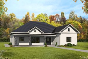 Architectural House Design - Ranch Exterior - Front Elevation Plan #117-906