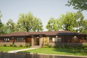Contemporary Exterior - Front Elevation Plan #923-201