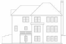 Dream House Plan - European Exterior - Rear Elevation Plan #419-187