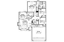 Cottage Floor Plan - Main Floor Plan Plan #927-19