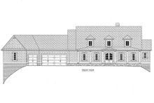 Dream House Plan - B/W elevation