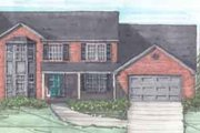 Traditional Style House Plan - 3 Beds 2.5 Baths 1950 Sq/Ft Plan #136-113