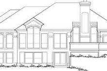 Dream House Plan - Mediterranean Exterior - Rear Elevation Plan #48-231