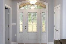 Craftsman Interior - Entry Plan #929-986