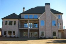 Dream House Plan - Traditional Exterior - Rear Elevation Plan #437-49