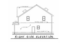 House Plan Design - Bungalow Exterior - Other Elevation Plan #20-1846