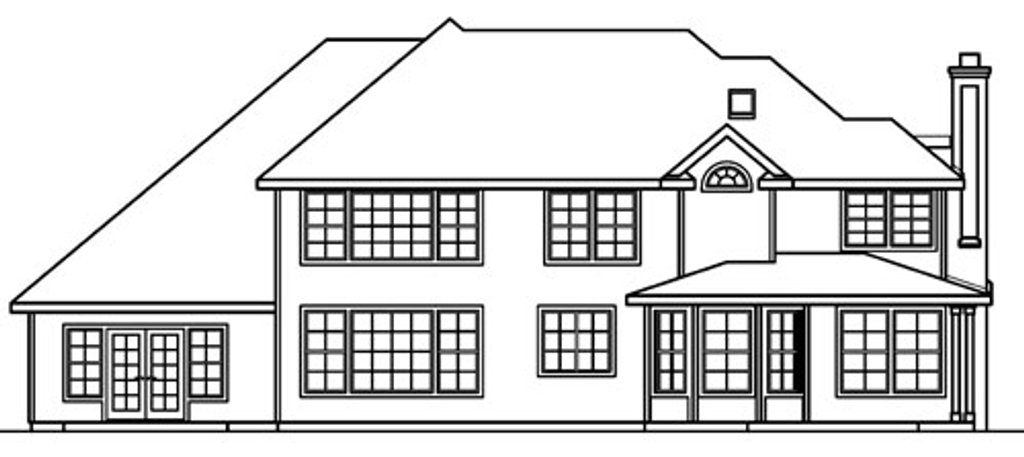European Style House Plan 5 Beds 5 5 Baths 4289 Sq Ft