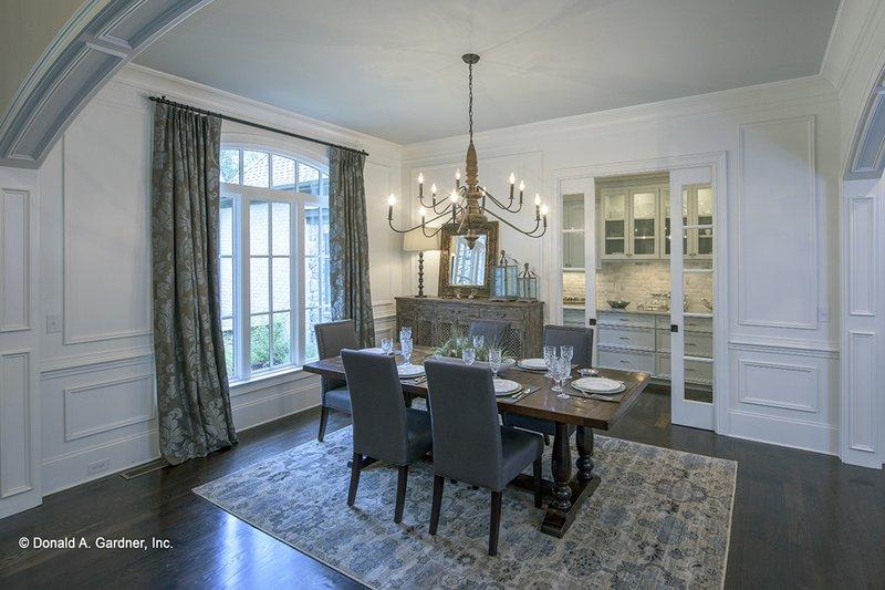 European Interior - Dining Room Plan #929-855 - Houseplans.com