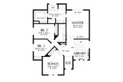 Contemporary Style House Plan - 4 Beds 2.5 Baths 2548 Sq/Ft Plan #48-990 Floor Plan - Upper Floor Plan