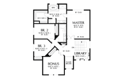 Contemporary Style House Plan - 4 Beds 2.5 Baths 2548 Sq/Ft Plan #48-990