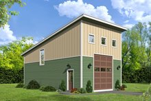 Contemporary Exterior - Front Elevation Plan #932-251
