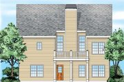 Traditional Style House Plan - 3 Beds 2 Baths 1347 Sq/Ft Plan #927-35 Exterior - Rear Elevation