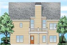 Dream House Plan - Traditional Exterior - Rear Elevation Plan #927-35