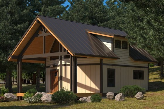 Traditional Exterior - Front Elevation Plan #895-115