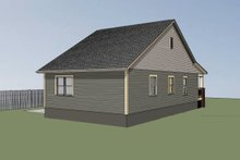 Dream House Plan - Cottage Exterior - Other Elevation Plan #79-128