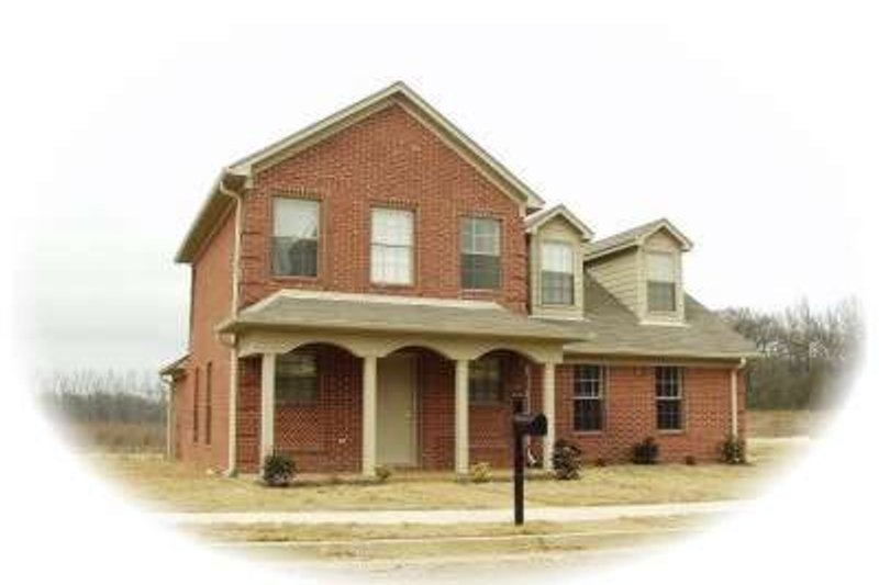 Traditional Style House Plan - 3 Beds 2.5 Baths 1535 Sq/Ft Plan #81-1377 Exterior - Front Elevation